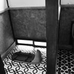 トイレの先客