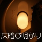 仄暗い豆電球の明かりの中で呟く声が聴こえる……