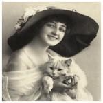 伯母さんと猫