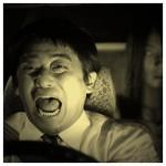 酔っぱらいタクシー乗客
