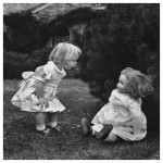 小さい頃遊んでいた女の子