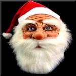 サンタのお面